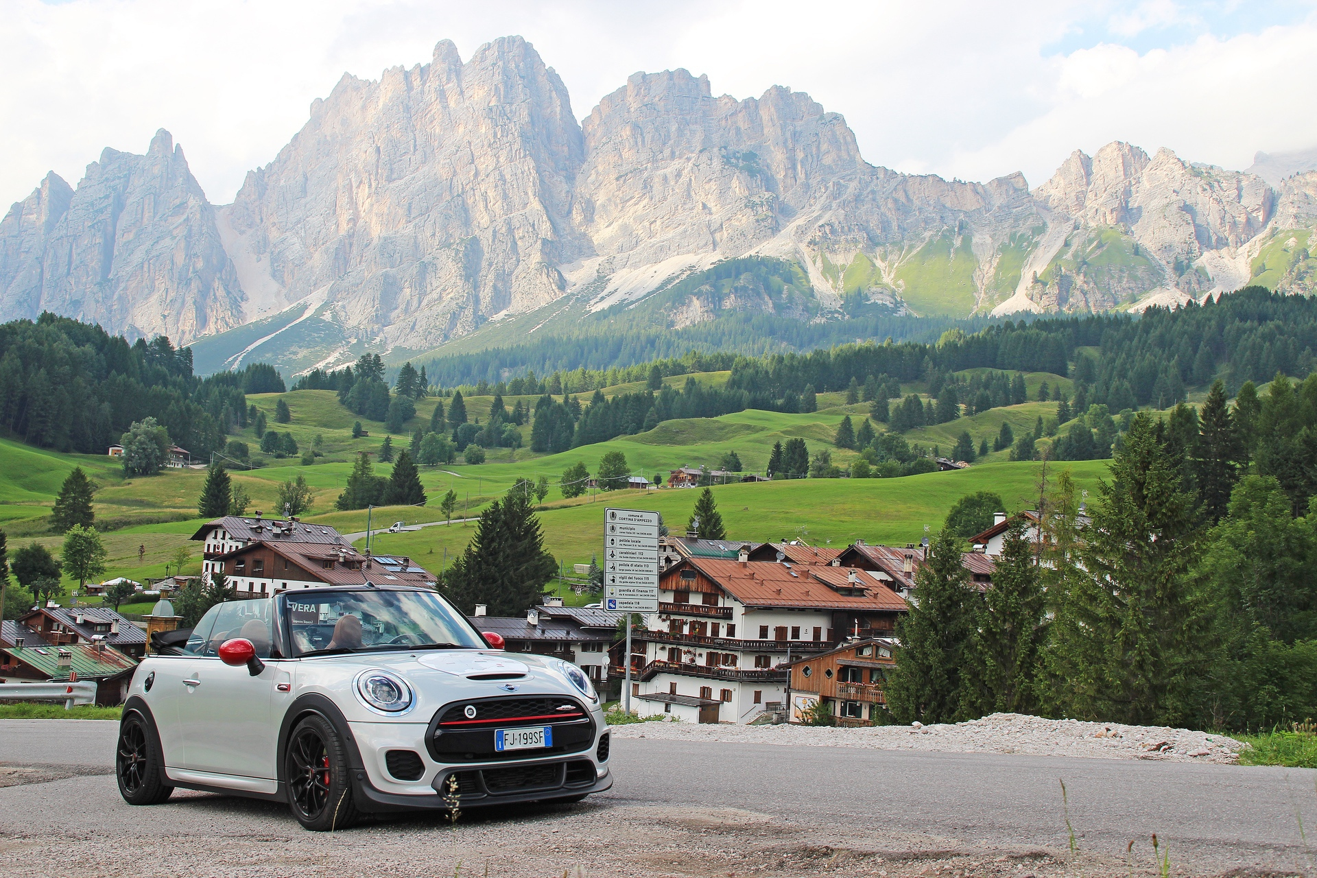 A European Tour with the MINI John Cooper Works Cabriolet