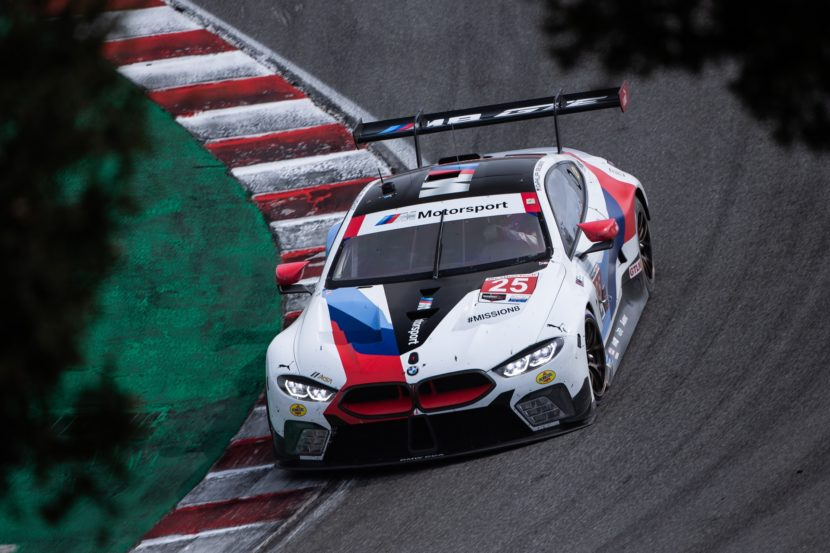 Podium Finish for BMW M8 GTE at Laguna Seca