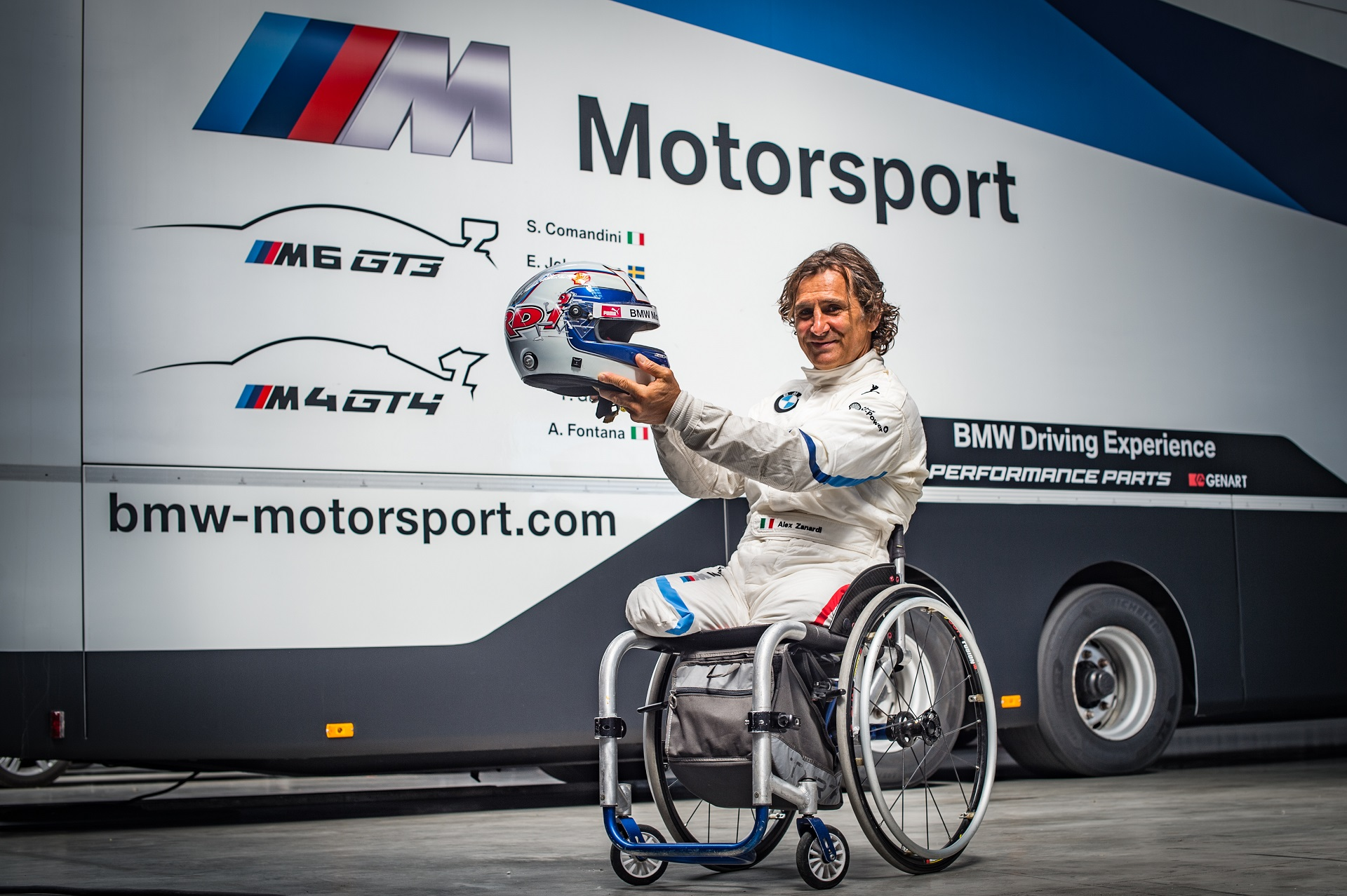 Alex Zanardi to Compete in the Italian GT Championship with M6 GT3