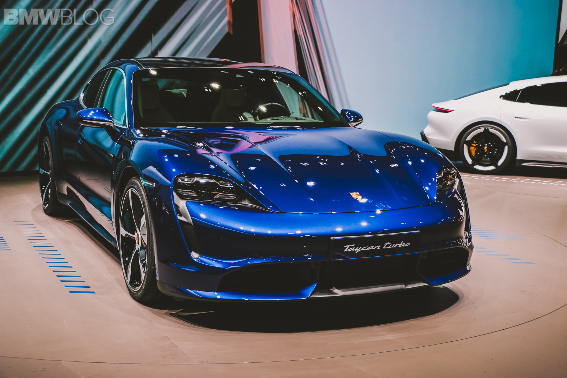 Porsche Taycan — Live Photos from the 2019 IAA