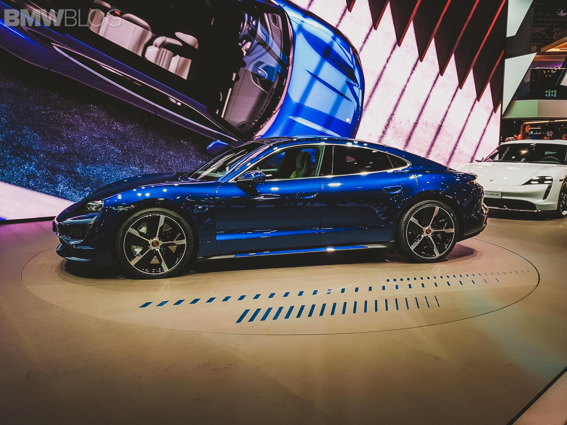 Porsche Taycan Live Photos From The 2019 Iaa