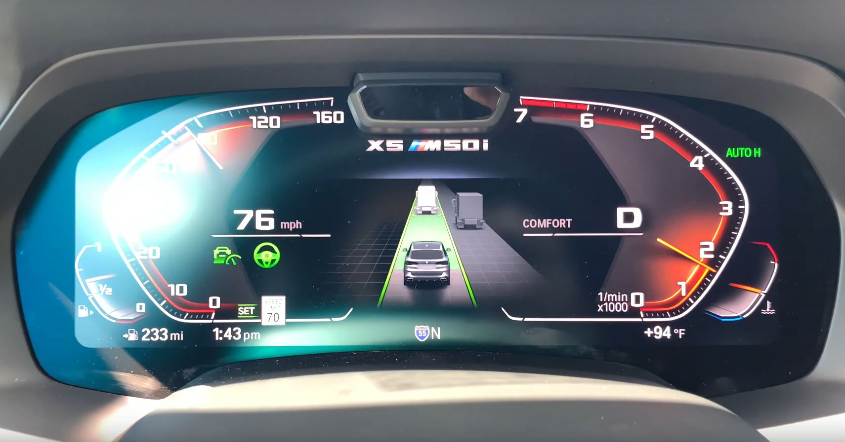 bmw assisted driving view