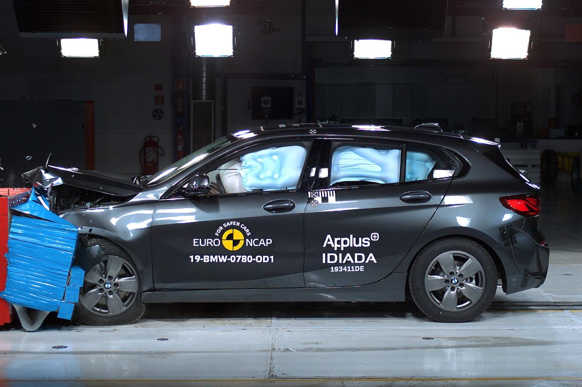 2019 BMW 1er F40 Euro NCAP Crashtest 5 Sterne 02