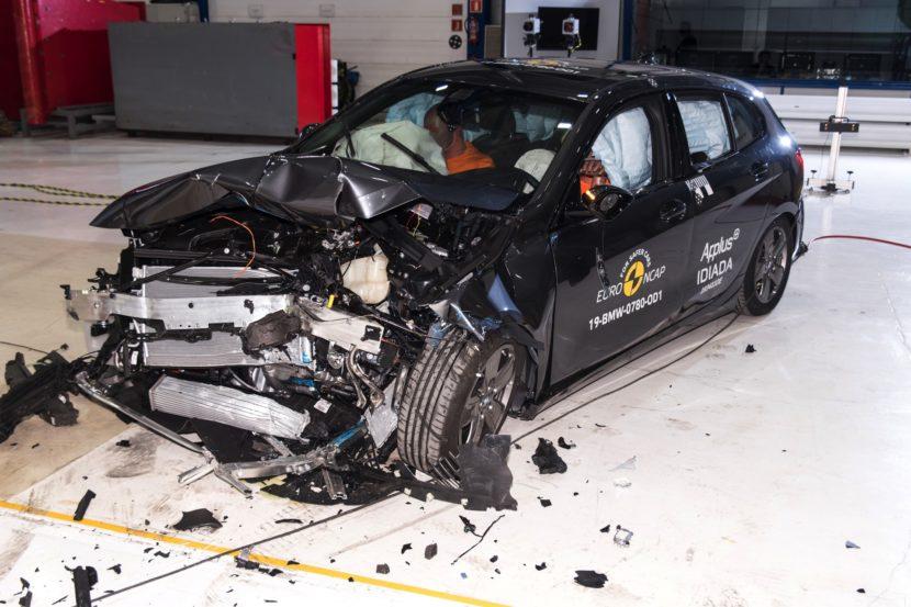 2019 BMW 1er F40 Euro NCAP Crashtest 5 Sterne 08 830x553