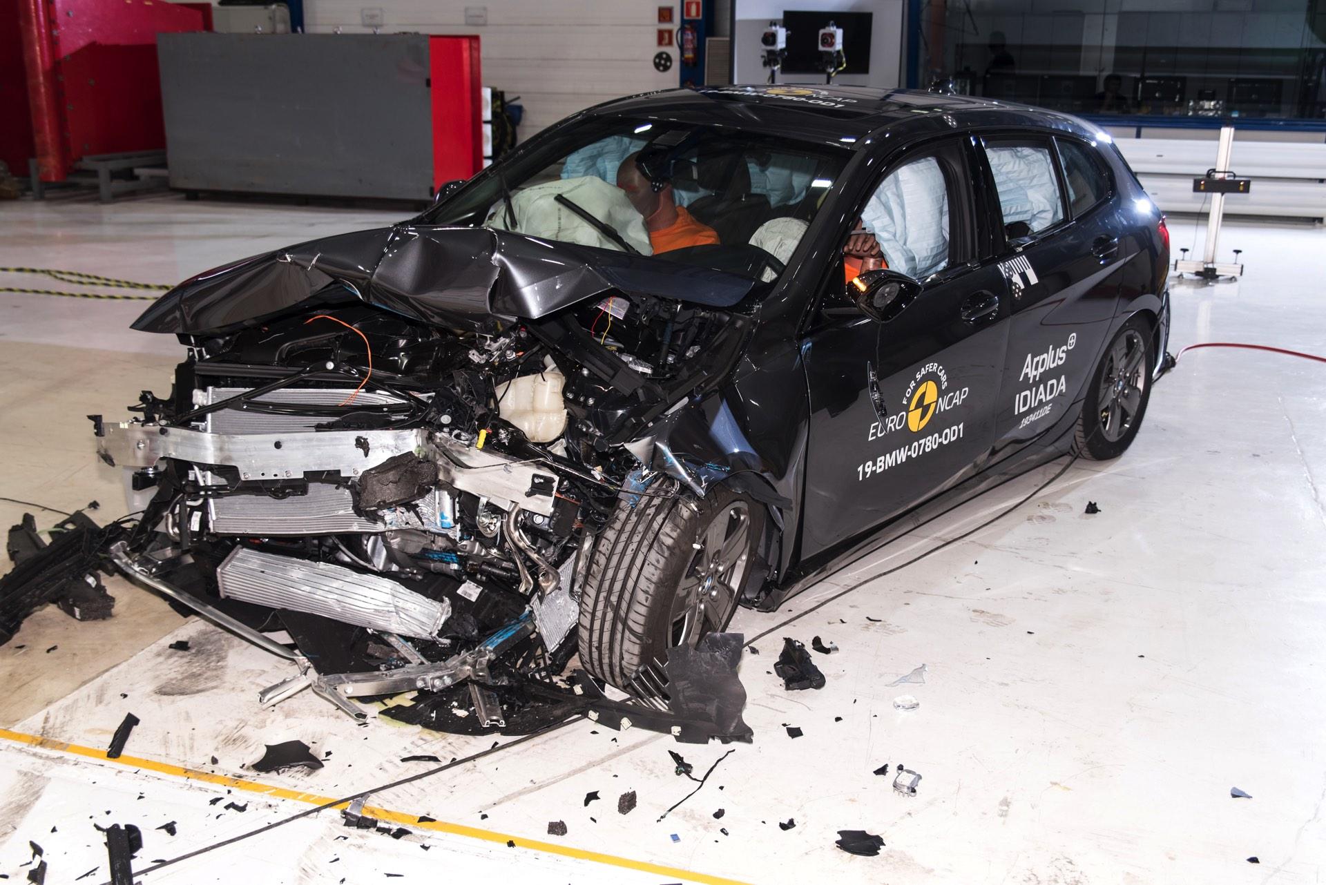 2019 BMW 1er F40 Euro NCAP Crashtest 5 Sterne 08