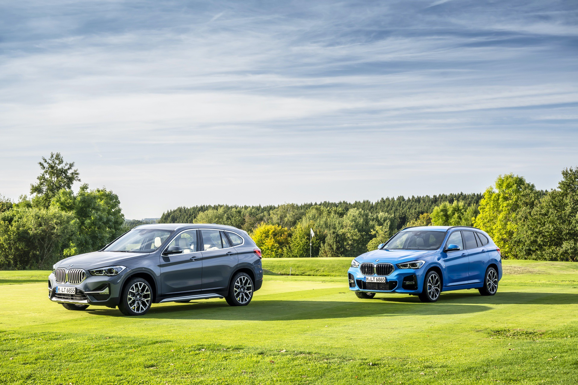 2019 BMW X1 facelift 0