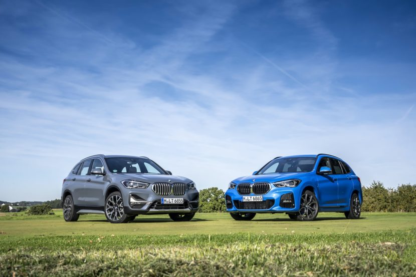 2019 BMW X1 facelift 5 830x553
