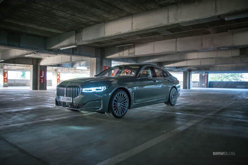 2020 BMW 745e test drive 23 830x553
