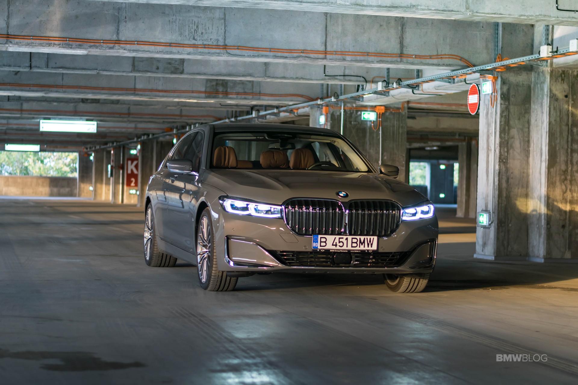 2020 BMW 745e test drive 56