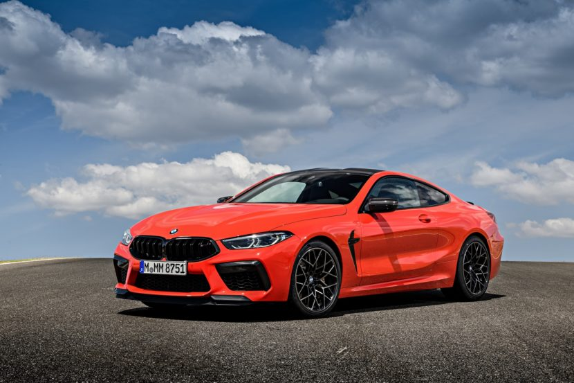 2020 BMW M8 Competition Coupe Fire Red 11 830x553