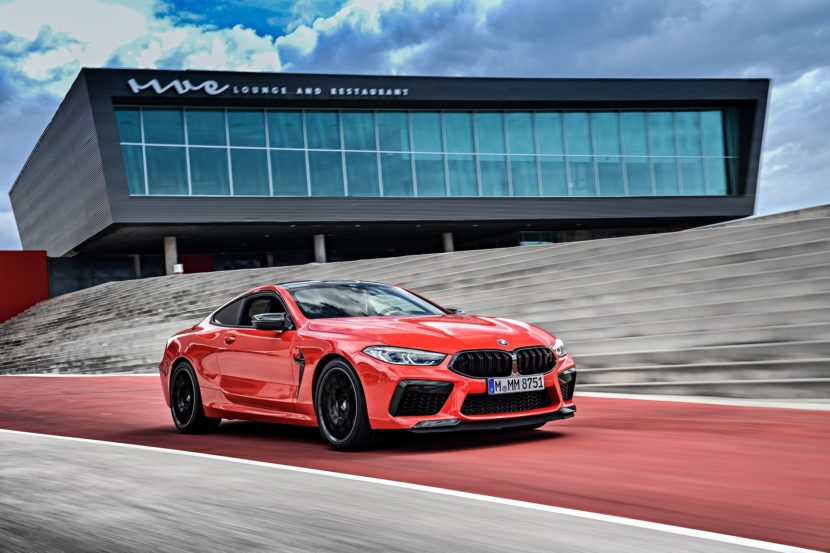 2020 BMW M8 Competition Coupe Fire Red 54 830x553