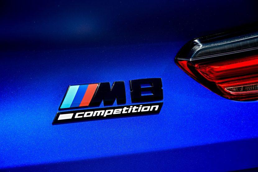2020 BMW M8 Competition Coupe Frozen Marina Blue 101 830x553