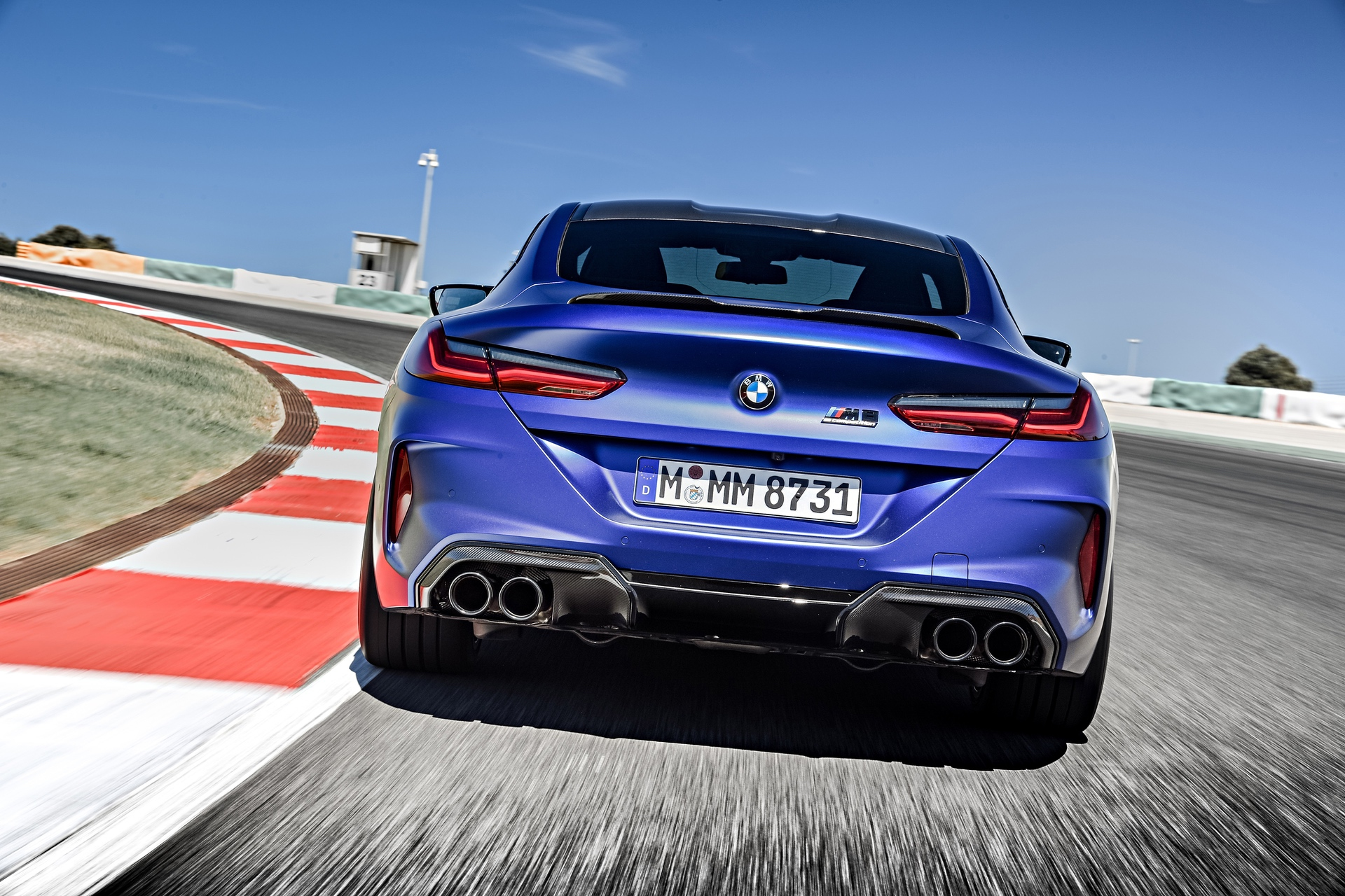 Bmw M8 Competition Coupe Track Laps And Exhaust Sound