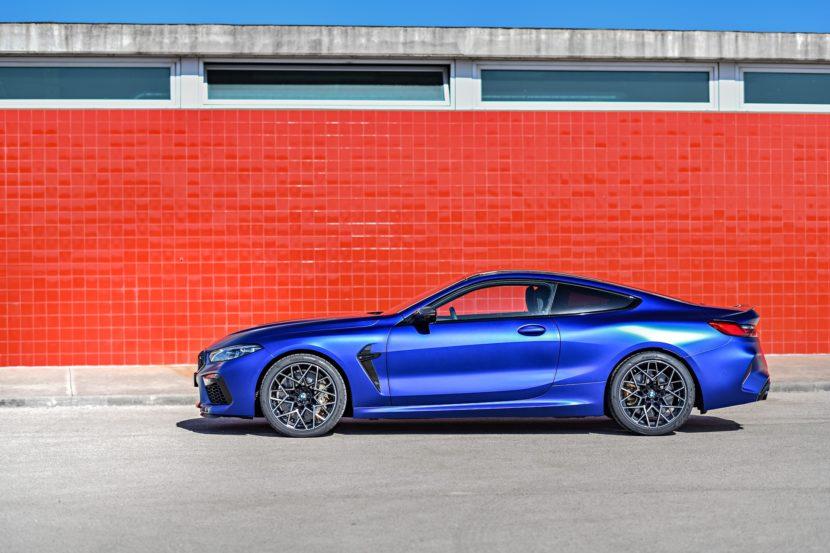 2020 BMW M8 Competition Coupe Frozen Marina Blue 73 830x553
