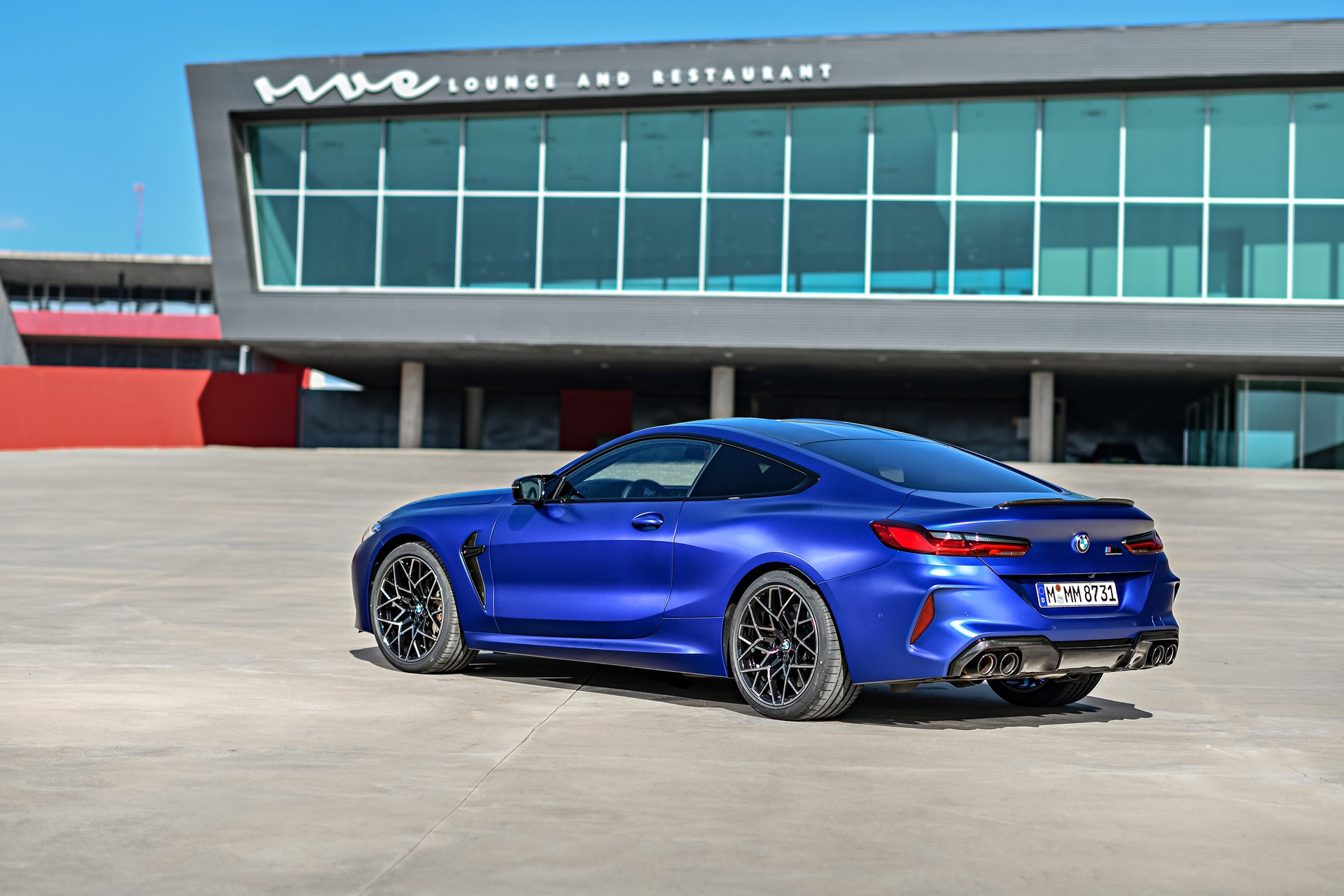 2020 BMW M8 Competition Coupe Frozen Marina Blue 79
