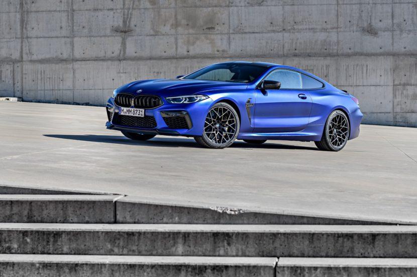 2020 BMW M8 Competition Coupe Frozen Marina Blue 84 830x553