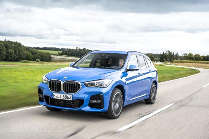 Horatiu Boeriu driving the 2019 BMW X1 Facelift