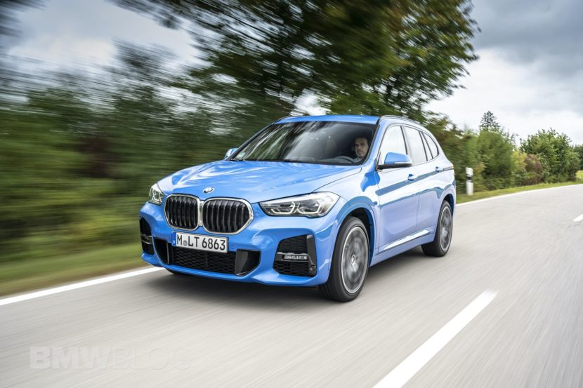 2020 BMW X1 facelift test drive 5 830x553