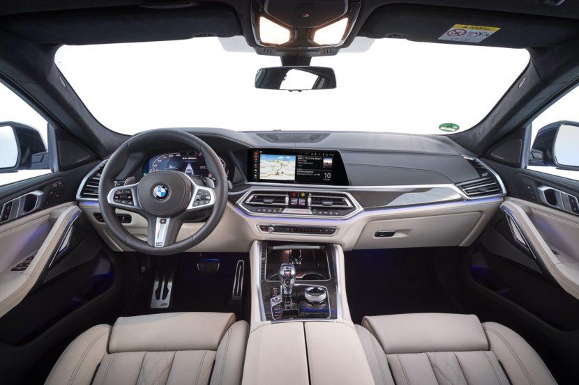 2020 BMW X6 images 105 830x553