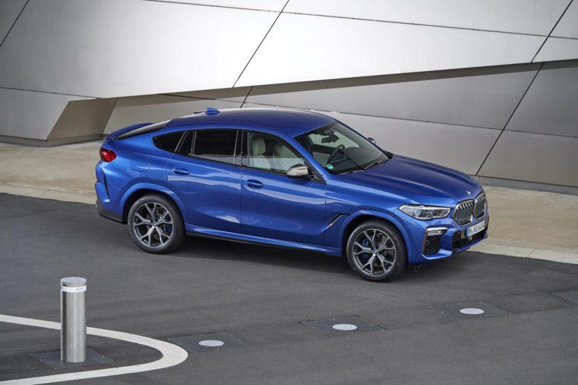 2020 BMW X6 images 64 830x553