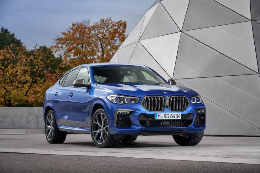 2020 BMW X6 images 67 830x553