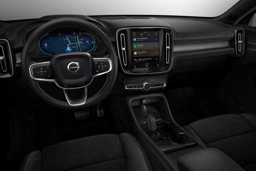 259313 Fully electric Volvo XC40 introduces brand new infotainment system 830x553