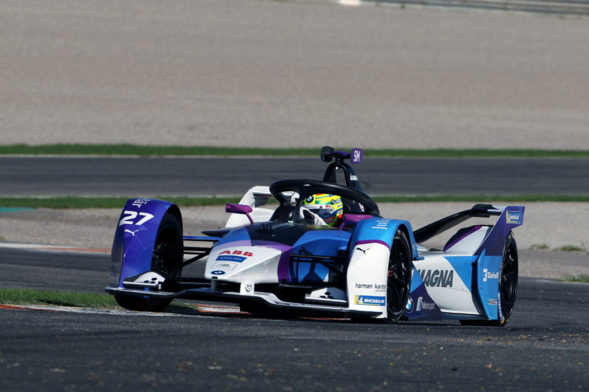 ABB FIA Formula E BMW i Andretti Motorsport at pre season tests 18 830x553