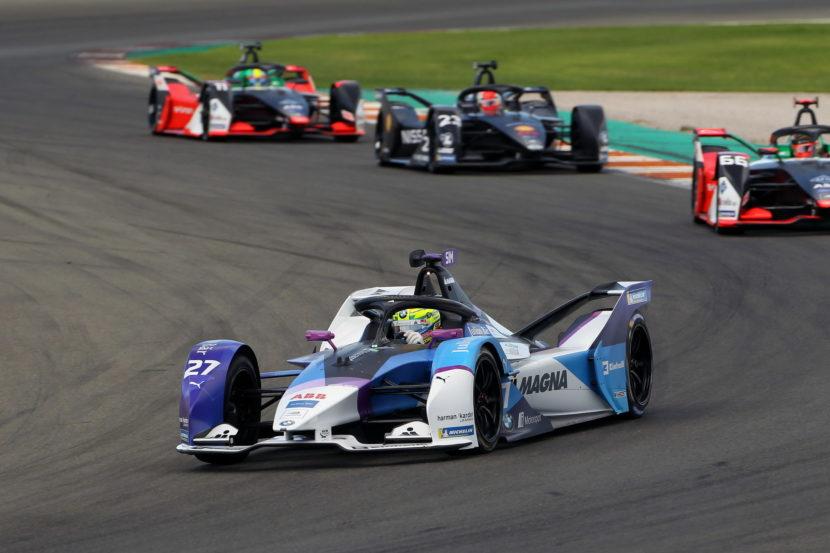 ABB FIA Formula E BMW i Andretti Motorsport at pre season tests 19 830x553