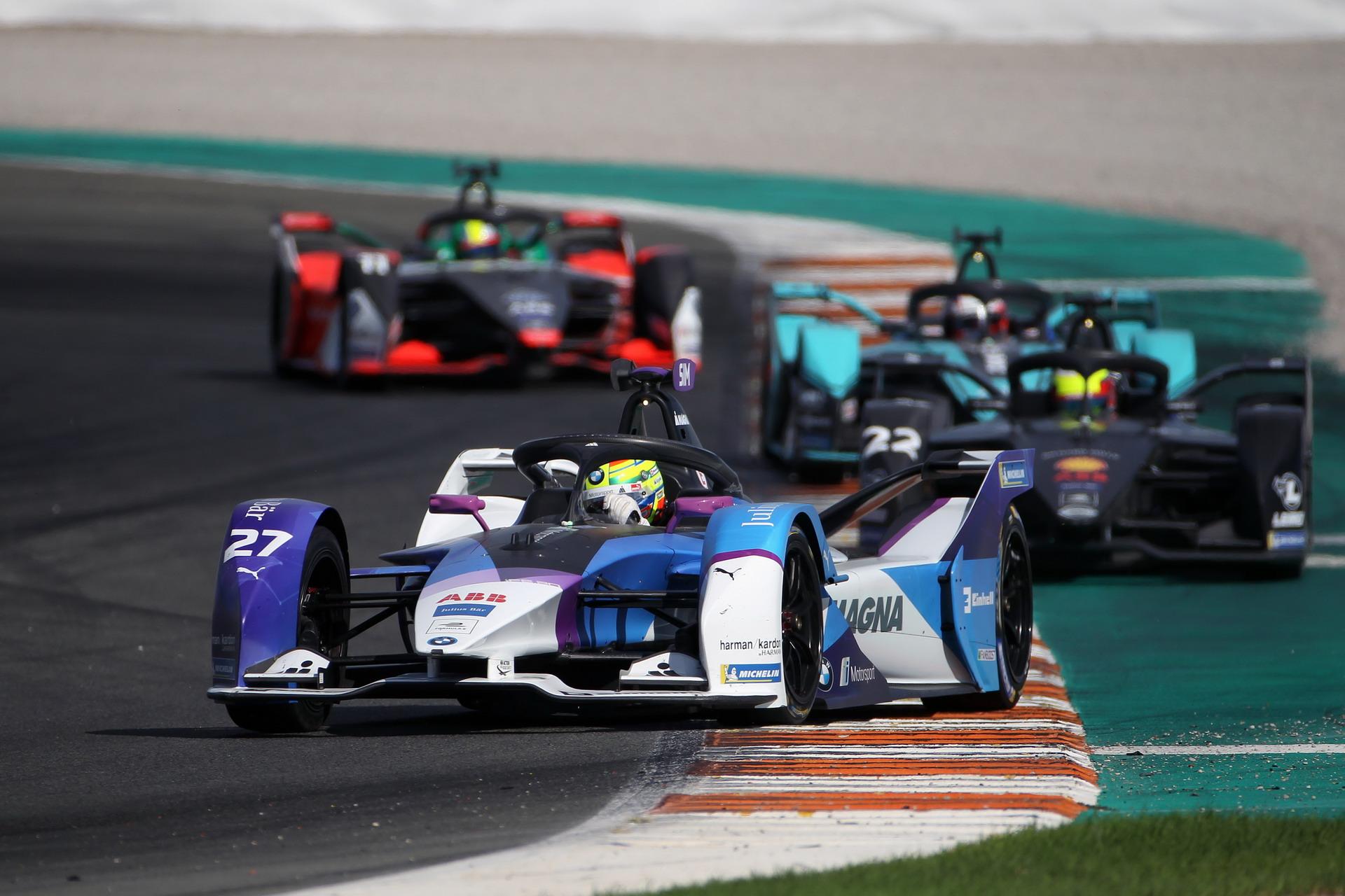 ABB FIA Formula E BMW i Andretti Motorsport at pre season tests 20