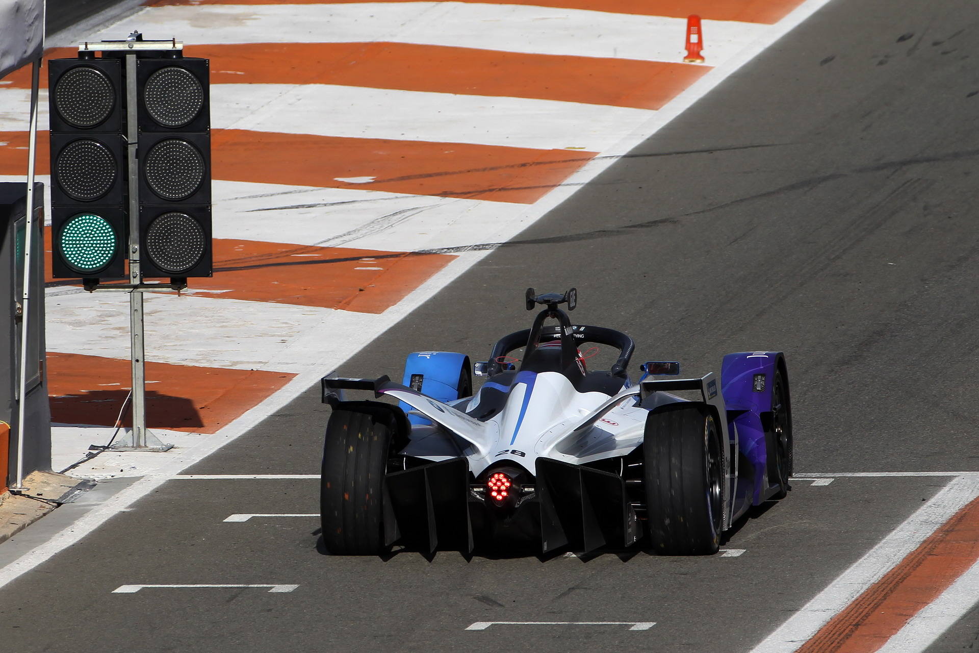 ABB FIA Formula E BMW i Andretti Motorsport at pre season tests 23