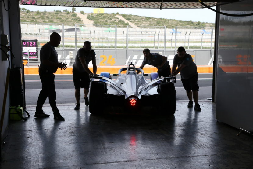 ABB FIA Formula E BMW i Andretti Motorsport at pre season tests 30 830x553