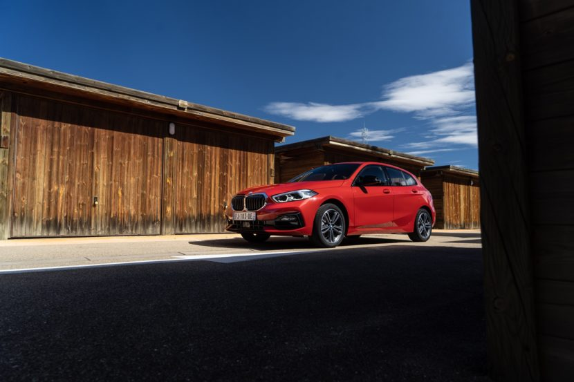 BMW 1 Series F40 with Sport Line in Melbourne Red 0 830x553