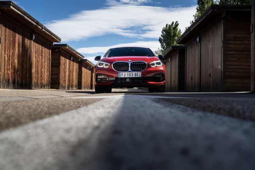 The 2019 BMW 1 Series F40 with Sport Line in Melbourne Red