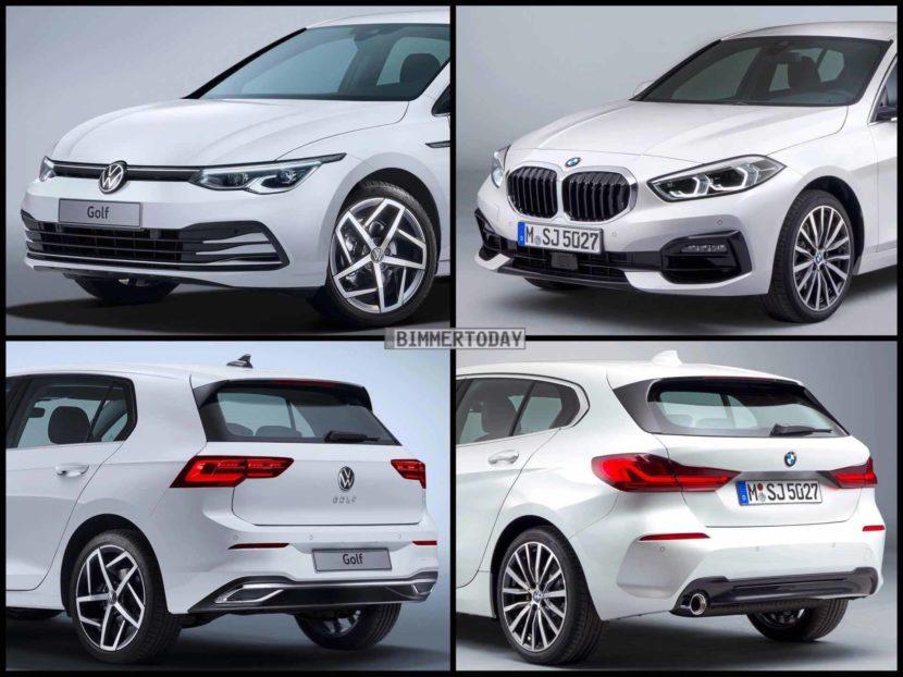 BMW 1er F40 VW Golf 8 2019 02 830x622