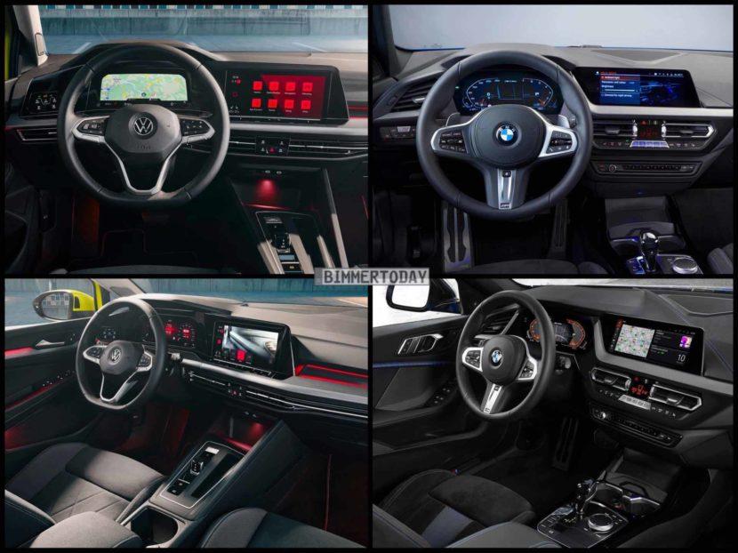 BMW 1er F40 VW Golf 8 2019 05 830x622