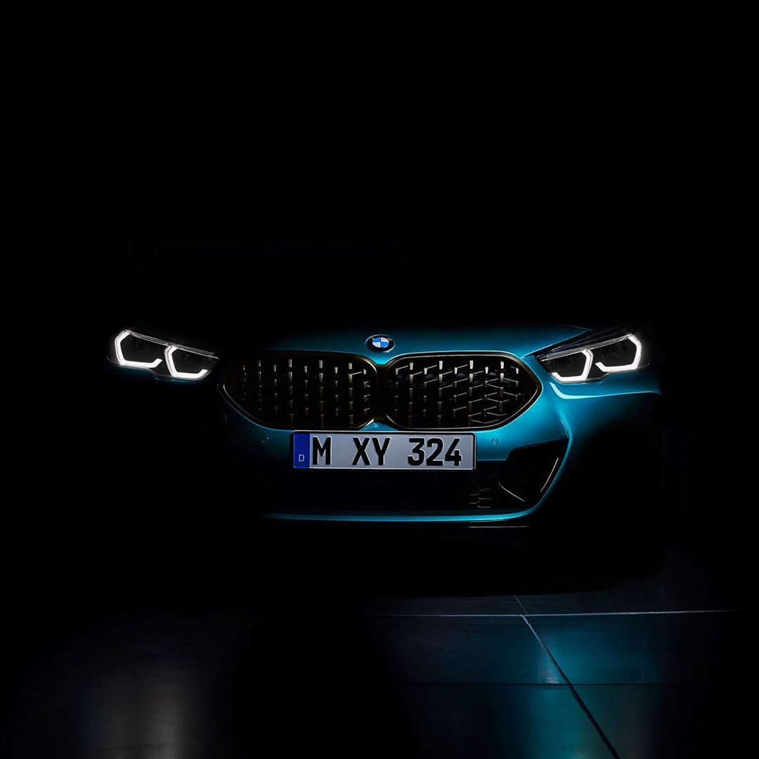 BMW 2 Series Gran Coupe teaser 1