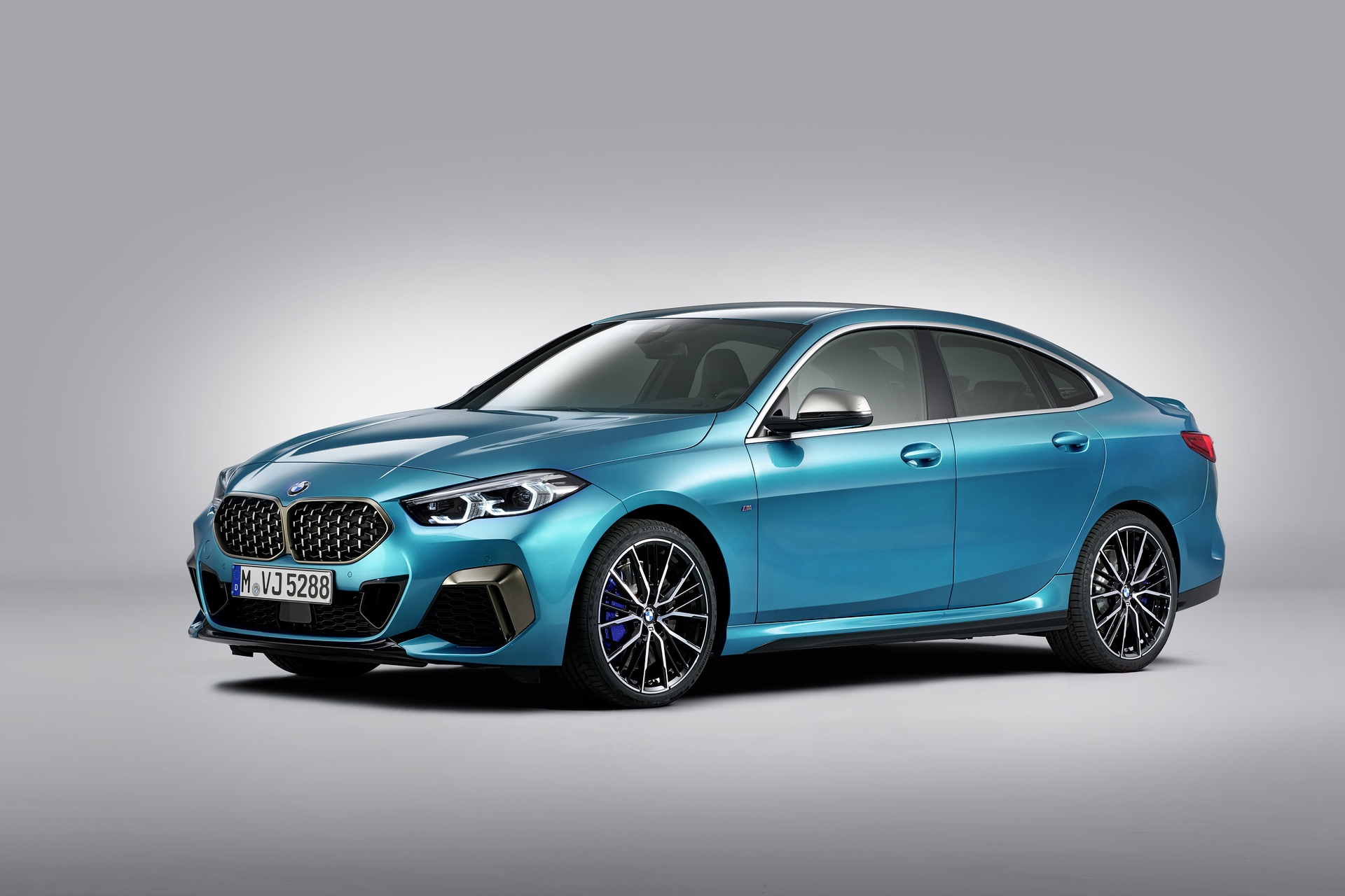 BMW 2 series gran coupe exterior 3