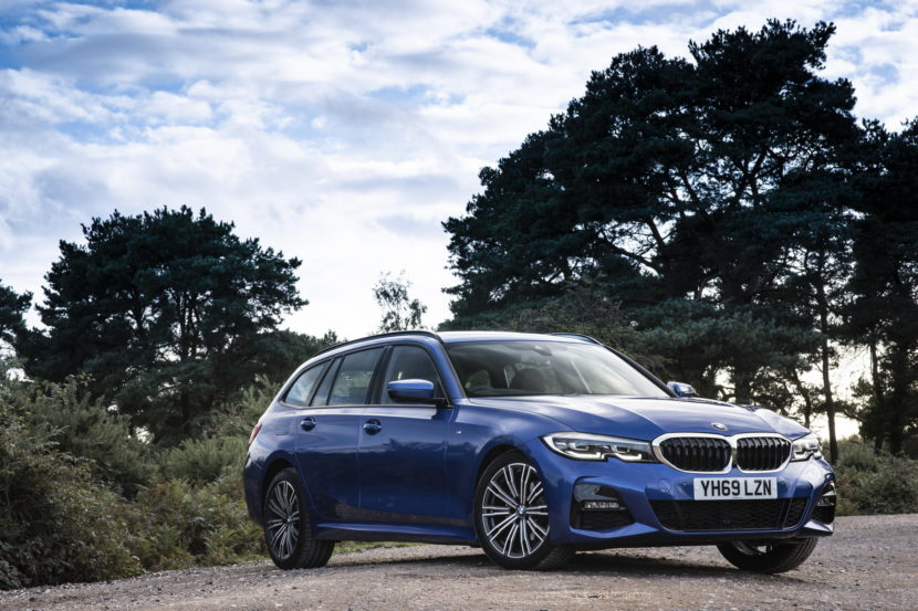 BMW 3 Series Touring G21 UK 58 830x553