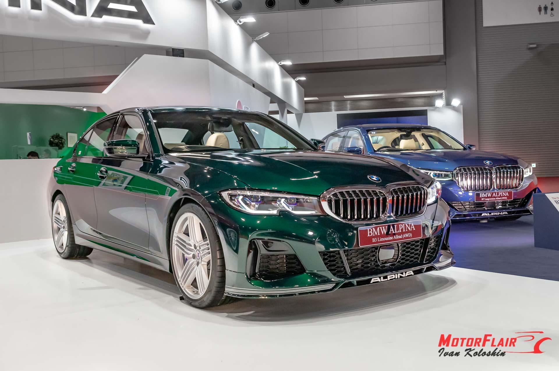 BMW ALPINA B3 Sedan 2019 9