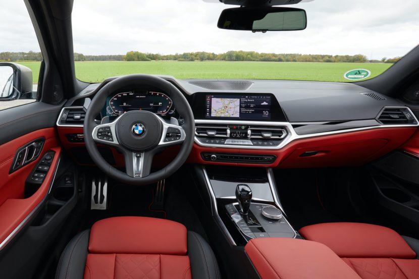 BMW M340i Touring Black Sapphire 42 830x553