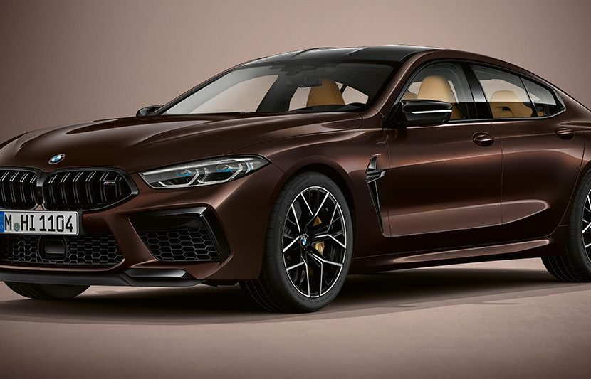 BMW M8 Gran Coupe F93 BMW Individual Almandin Brown 830x533