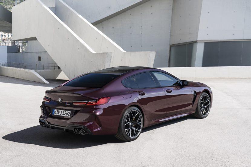 BMW M8 Gran Coupe exterior images 11 830x554