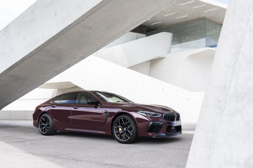 BMW M8 Gran Coupe exterior images 13 830x553