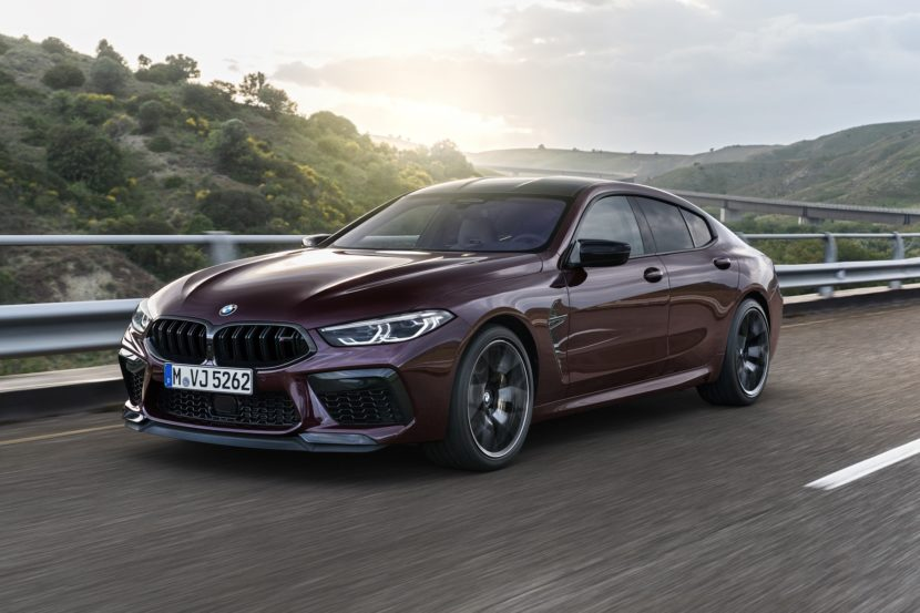 BMW M8 Gran Coupe exterior images 21 830x553