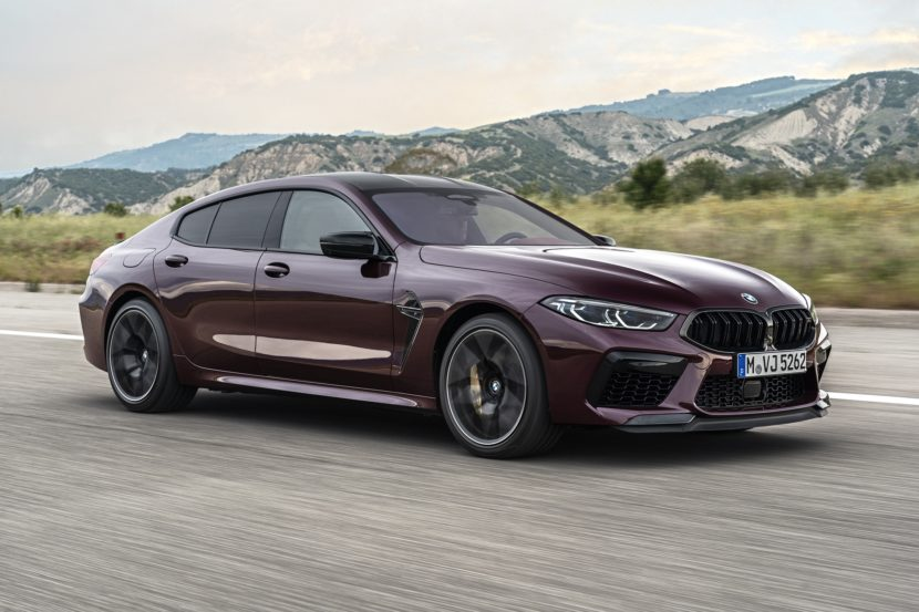 BMW M8 Gran Coupe exterior images 29 830x553