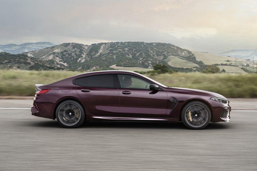 BMW M8 Gran Coupe exterior images 39 830x553