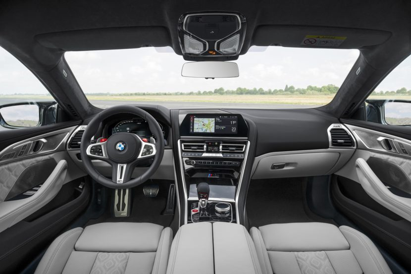 BMW M8 Gran Coupe interior images 38 830x554