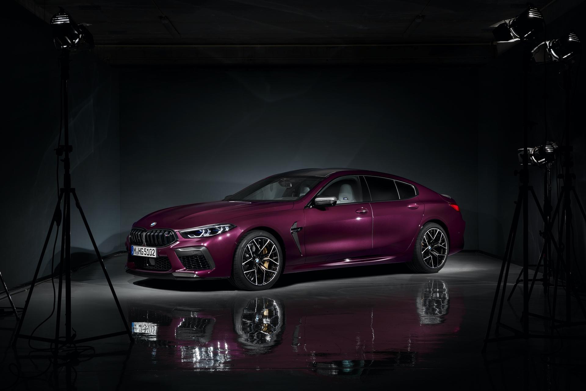 BMW M8 Gran Coupe studio images 15