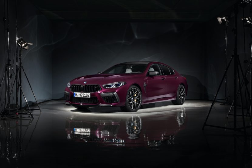BMW M8 Gran Coupe studio images 19 830x553