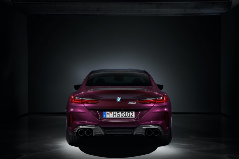 BMW M8 Gran Coupe studio images 9 830x553
